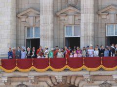 The royal family (Gareth Fuller/PA)
