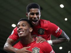 Anthony Martial and Marcus Rashford are both doubtful for Manchester United (PA)