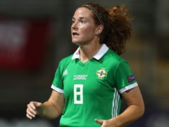 Skipper Marissa Callaghan scored the first goal as Northern Ireland qualified for the Euro 2022 finals with victory over Ukraine (David Davies/PA)