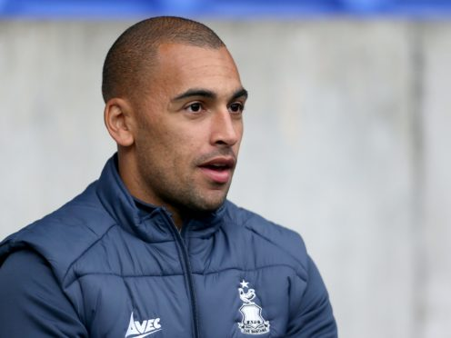 James Vaughan returned to action (Richard Sellers/PA)
