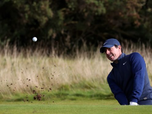 Rory McIlroy is struggling for form ahead of the 85th Masters (Jane Barlow/PA)
