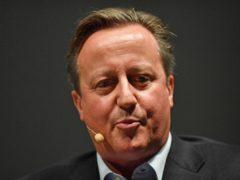 David Cameron (Jacob King/PA)
