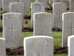 The Commonwealth War Graves Commission has issued an apology (Gareth Fuller/PA)