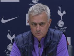 Jose Mourinho's time at Tottenham is over (PA)