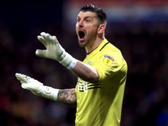Goalkeeper Keiren Westwood has been carrying a rib problem (Mike Egerton/PA)