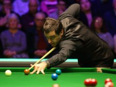 Ronnie O'Sullivan will look to win a seventh world crown at the Crucible Theatre (Nigel French/PA)