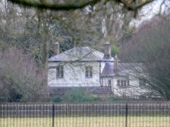 A general view of Frogmore Cottage (Steve Parsons/PA)