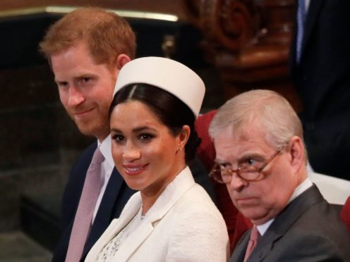 The Duke and Duchess of Sussex and the Duke of York have been at the centre of recent royal crises (Kirsty Wigglesworth/PA)