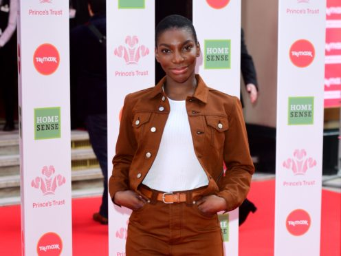 I May Destroy You star and creator Michaela Coel will release her first book later this year, the publisher has announced (Ian West/PA)