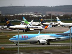 TUI is expecting to operate up to 75% of its summer schedule this year (Nick Potts/PA)