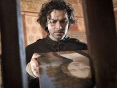 Aidan Turner playing Leonardo Da Vinci (Angelo Turetta/PA)