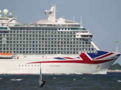 Domestic cruises will be restricted to as little as a fifth of normal capacity for initial sailings, under rules announced by the Department for Transport (Andrew Matthews/PA)