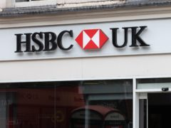 HSBC UK has revealed details of its new 5% deposit mortgage products (Aaron Chown/PA)
