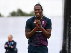Jofra Archer is awaiting news on when or if he can join Rajasthan Royals at this year's IPL (Gareth Copley/PA)