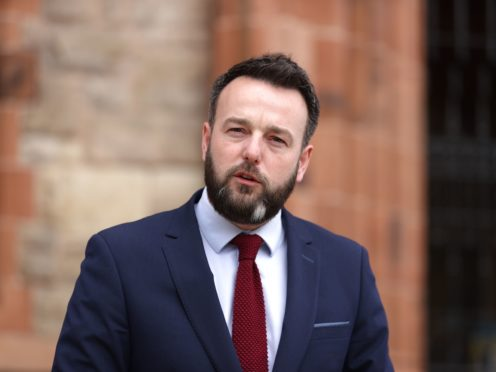 Colum Eastwood has asked that Boris Johnson should be more engaged in the Northern Ireland peace process (Liam McBurney/PA)