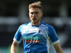 Tom Beadling equalised for Barrow (Mike Egerton/PA)