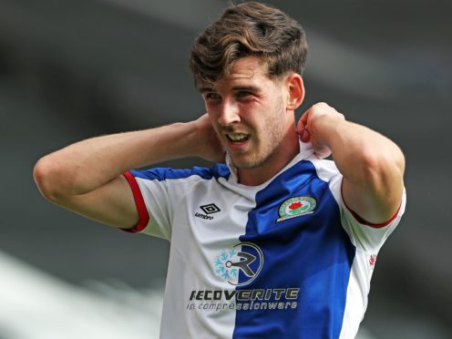 Joe Rankin-Costello came off in the first half of Blackburn's 1-0 loss to Wycombe (Kieran Cleeves/PA).