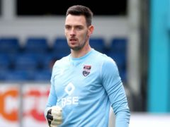 Ross County goalkeeper Ross Laidlaw (Jeff Holmes/PA)