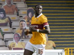 Bevis Mugabi has extended his deal at Motherwell (Jeff Holmes/PA)