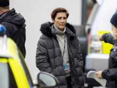 Vicky McClure on the set of the sixth series of Line of Duty (Liam McBurney/PA)