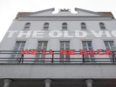 Theatres like the Old Vic have been closed (Dominic Lipinski/PA)