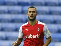 Rotherham's Joe Mattock could return from a along-term ankle injury against Middlesbrough (Steve Parsons/PA)
