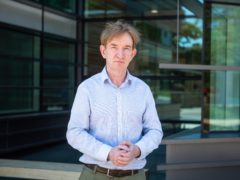 Professor Adrian Hill said researchers hoped to report the results of the final stage of the trial next year (John Cairns/University of Oxford/PA)