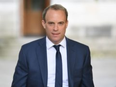 Foreign Secretary Dominic Raab said the UK 'has a proud history of providing protection to those who need it' (Stefan Rousseau/PA)