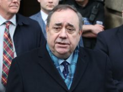 Alex Salmond addressed Alba Party supporters on Saturday (Jane Barlow/PA)