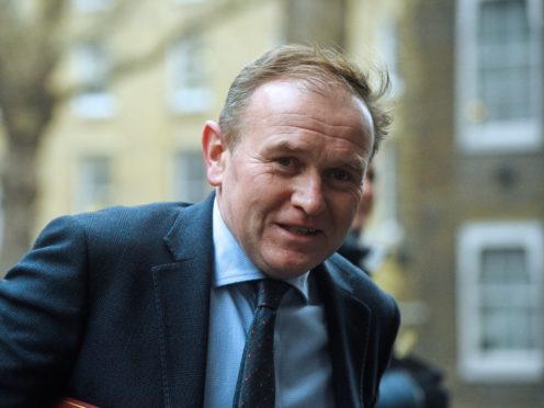 Environment Secretary George Eustice said contact with David Cameron and Greensill was properly recorded (Kirsty O'Connor/PA)