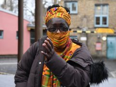 Rosamund Kissi-Debrah outside Southwark Coroner's Court (Kirsty O'Connor/PA)