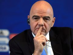 FIFA president Gianni Infantino has warned the breakaway clubs they must live with the consequences of their choices (Nick Potts/PA)