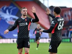 Jordan Henderson says the abuse directed at three of his team-mates, including Trent Alexander-Arnold, turned his stomach (PA)