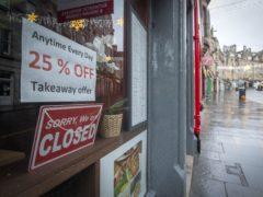 One in six Scottish shop premises now lies empty, according to Scottish Retail Consortium director David Lonsdale (Jane Barlow/PA)