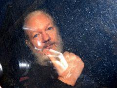 Julian Assange is being held at Belmarsh prison (Victoria Jones/PA)