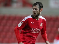 Jonathan Grounds could start for Swindon against Peterborough (Nick Potts/PA)
