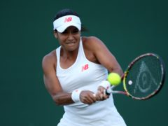 Heather Watson will lead the British team against Mexico (Steven Paston/PA)