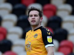 Matty Dolan had to be withdrawn late on during Newport's midweek draw with Carlisle (Simon Galloway/PA)