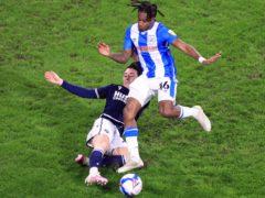 Huddersfield loanee Rolando Aarons, right, has overcome injury (Mike Egerton/PA)