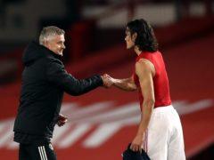 Manchester United manager Ole Gunnar Solskjaer is keen to keep Edinson Cavani (Martin Rickett/PA)