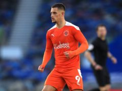 Jerry Yates bagged a brace for Blackpool against Gillingham (Adam Davy/PA)