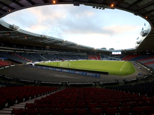 Hampden is due to host two of Scotland's games at this summer's European Championships (Jeff Holmes/PA)