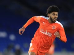 Ellis Simms got among the goals against Swindon (Adam Davy/PA)