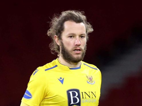 There is no pressure on St Johnstone at Ibrox, says Stevie May (Jeff Holmes/PA)
