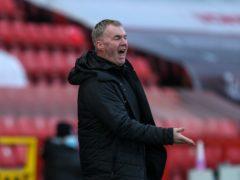 John Sheridan felt Swindon should have got something from the game (Steven Paston/PA)