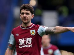 Burnley winger Robbie Brady was injured while away on international duty (Andrew Couldridge/PA)