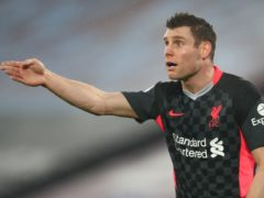 Liverpool midfielder James Milner is against the idea of a European Super League (Clive Rose/PA)