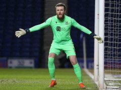 St Johnstone goalkeeper Zander Clark saved a penalty (Jeff Holmes/PA)