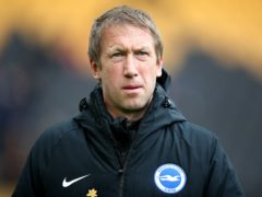 Brighton boss Graham Potter has embraced the Seagulls' difficult fixtures run-in (Nick Potts/PA)