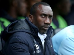 Jimmy Floyd Hasselbaink admits his side are nearly safe (Steve Paston/PA)